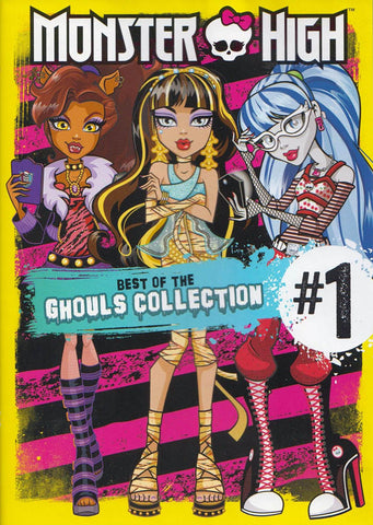 Monster High: Best of the Ghouls Collection #1 DVD Movie
