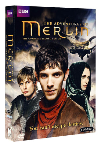 The Adventures Of Merlin - The Complete Season 2 (Boxset) DVD Movie