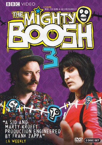 The Mighty Boosh - The Complete Season 3 DVD Movie