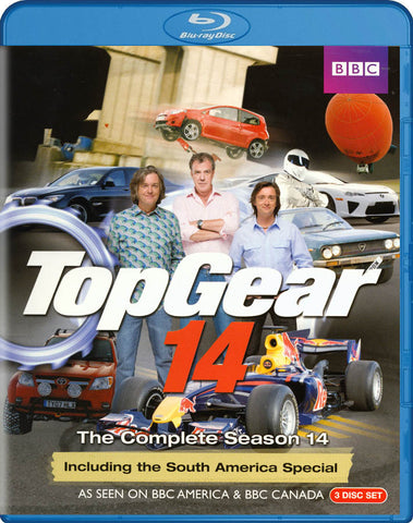 Top Gear - The Complete Season 14 (Including The South America Special) (Blu-ray) BLU-RAY Movie