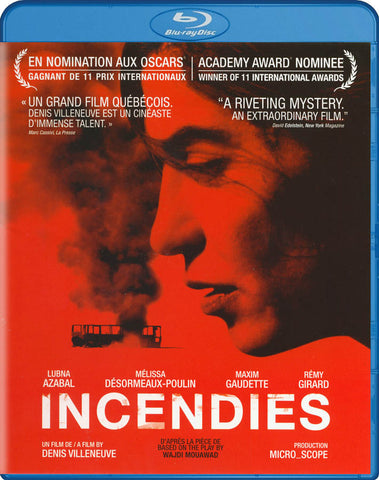 Incendies (French) (Blu-ray) BLU-RAY Movie