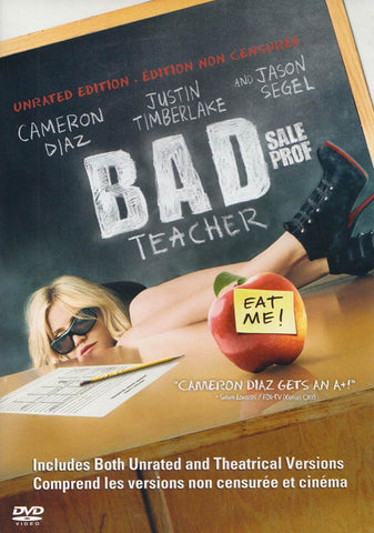 Bad Teacher (Unrated Edition) (Bilingual) DVD Movie
