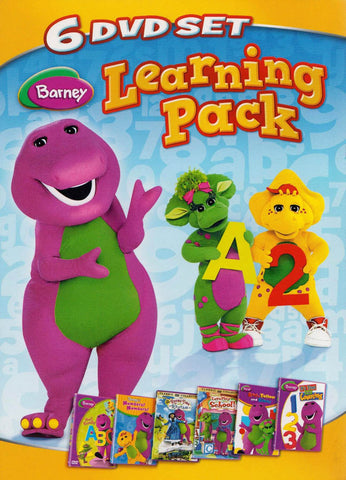 Barney - Learning Pack (Boxset) (Maple) DVD Movie