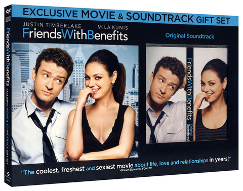 Friends With Benefits (With CD) (Boxset) DVD Movie