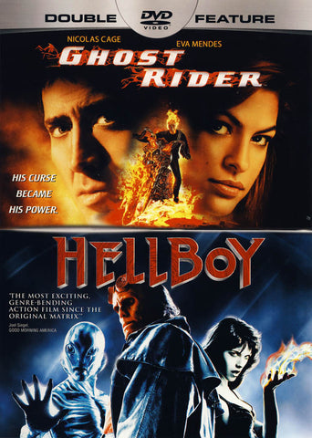 Ghost Rider / Hellboy (Double Feature) DVD Movie