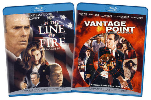 In the Line of Fire / Vantage Point (Blu-ray) ( 2 Pack) (Bilingual) BLU-RAY Movie