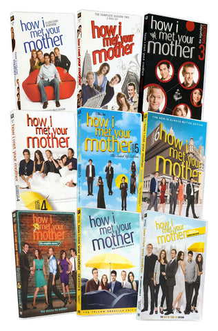 How I Met Your Mother: The Complete Series 1-9 (Boxset) DVD Movie