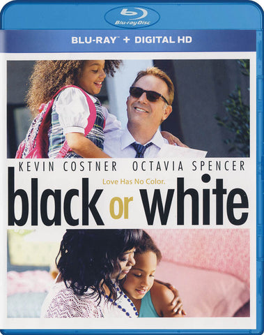 Black or White (Blu-ray + Digital HD) (Blu-ray) BLU-RAY Movie