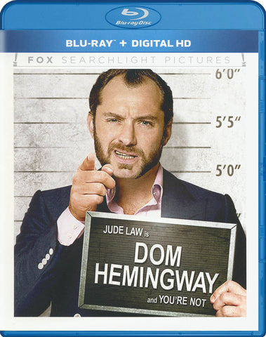 Dom Hemingway (Blu-ray + Digital HD) (Blu-ray) BLU-RAY Movie