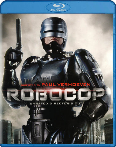 RoboCop (Unrated Director's Cut) (Blu-ray) BLU-RAY Movie