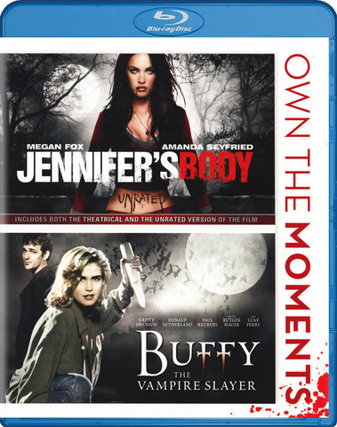 Jennifer's Body / Buffy - The Vampire Slayer (Double Feature) (Blu-ray) BLU-RAY Movie