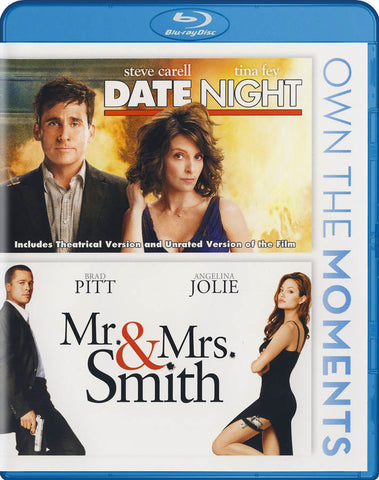 Date Night / Mr & Mrs Smith (Double Feature) (Blu-ray) BLU-RAY Movie