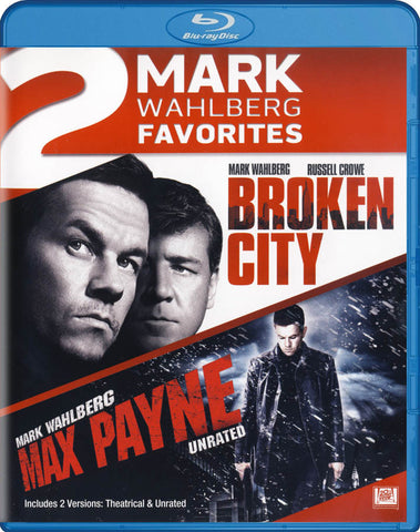 Broken City / Max Payne (Mark Wahlberg Favorites) (Double Feature) (Blu-ray) BLU-RAY Movie