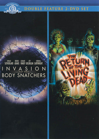 Invasion Of The Body Snatcher / The Return Of The Living Dead (Double Feature) DVD Movie
