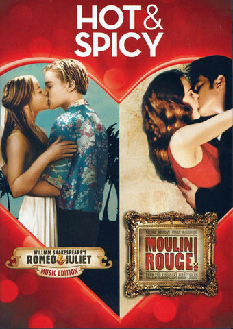 Romeo & Juliet / Moulin Rouge! (Double Feature) DVD Movie