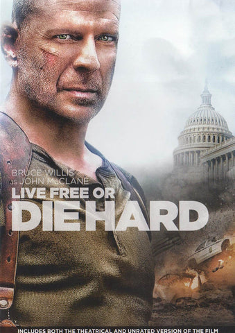 Live Free or Die Hard (Die Hard 4) DVD Movie