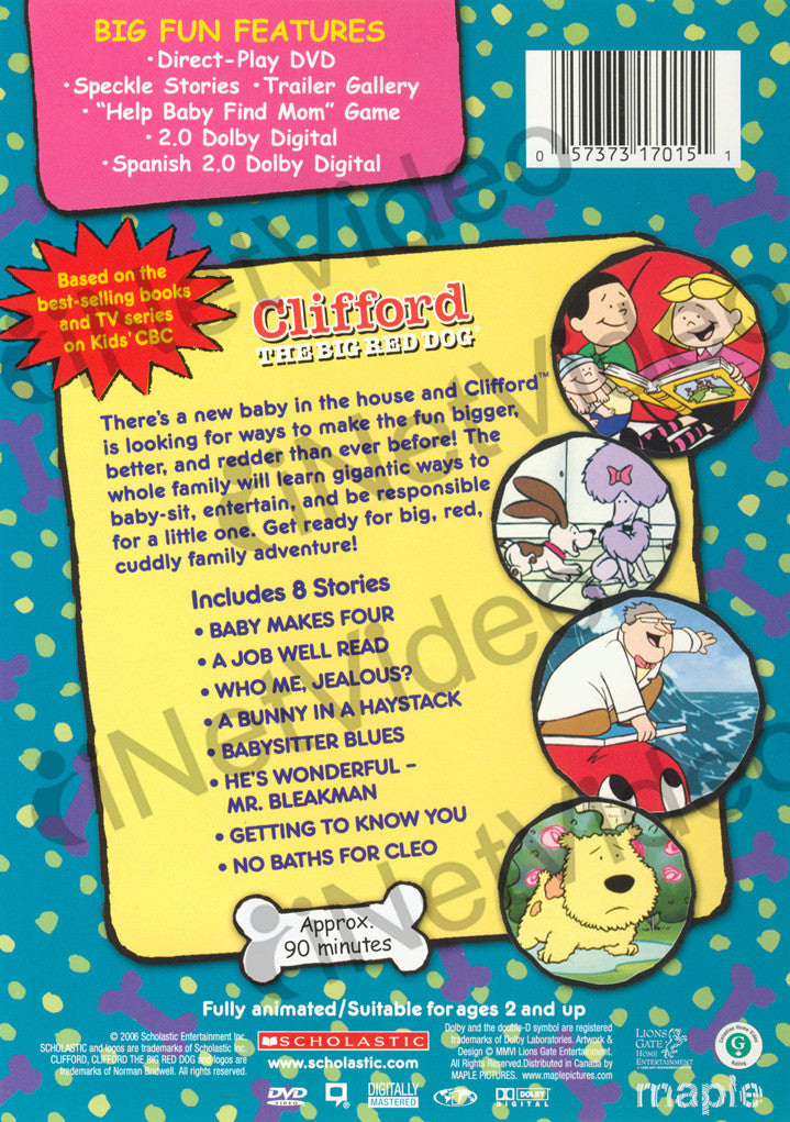 Clifford The Big Red Dog Movies For Sale