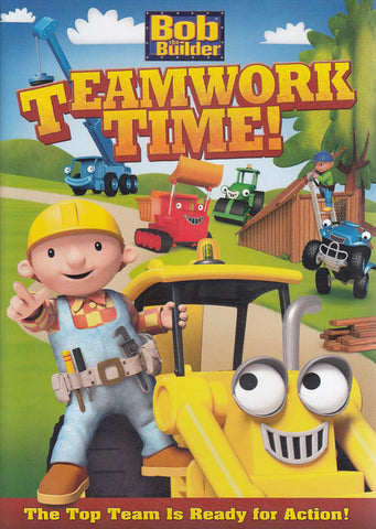 Bob the Builder: Teamwork Time! DVD Movie
