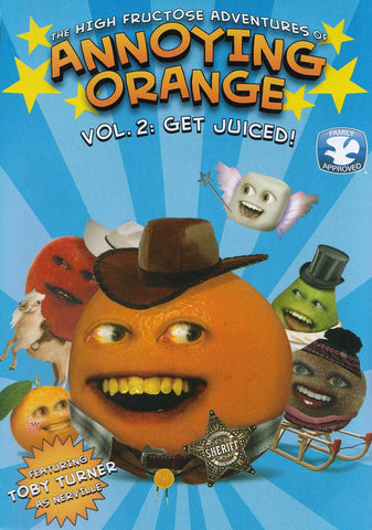 High Fructose Adventure of Annoying Orange Vol: 2: Get Juiced DVD Movie