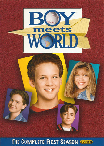 Boy Meets World - The Complete (1st) First Season (Keepcase) (MAPLE) DVD Movie