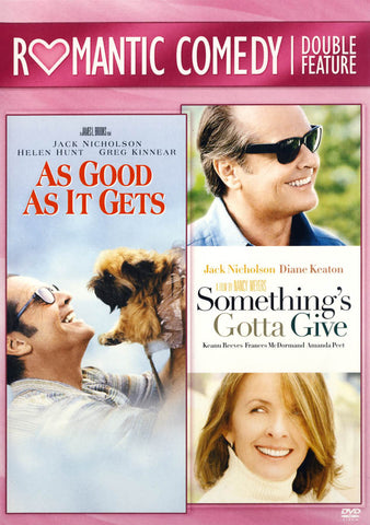As Good As It Gets / Something s Gotta Give (Romantic Comedy Double Feature) DVD Movie