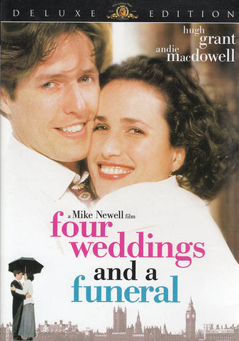 Four Weddings and a Funeral (Deluxe Edition) (MGM) DVD Movie