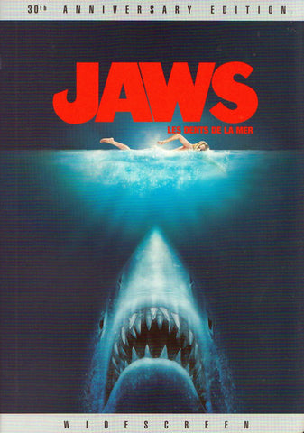 Jaws (Widescreen 30th Anniversary Edition) (Bilingual) DVD Movie