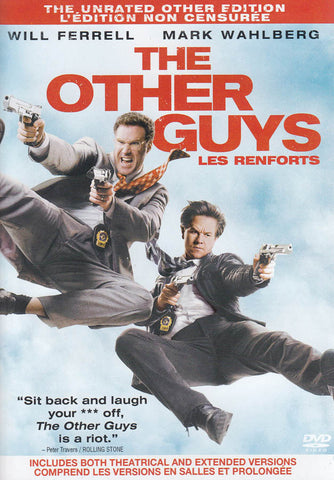 The Other Guys (The Unrated Other Edition) (Bilingual) DVD Movie