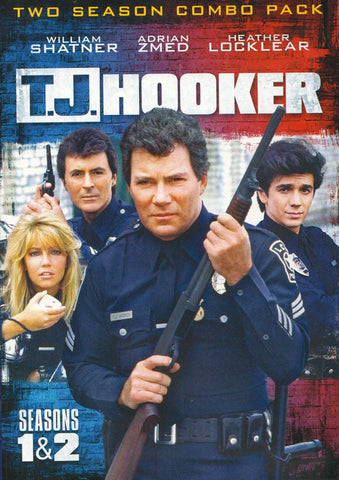 TJ Hooker (Seasons 1and 2 Combo Pack) DVD Movie
