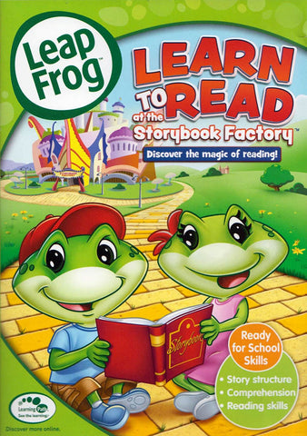 Leap Frog - Learn to Read at the Storybook Factory (MAPLE) DVD Movie