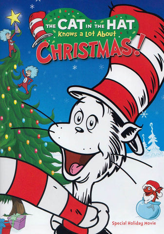 The Cat in the Hat Knows a Lot About Christmas! DVD Movie