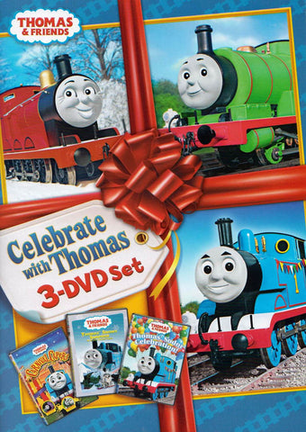Thomas and Friends - Celebrate with Thomas 3-DVD Set (Boxset) DVD Movie