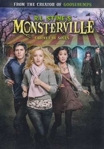 Monsterville: Cabinet Of Souls (R.L. Stines) DVD Movie