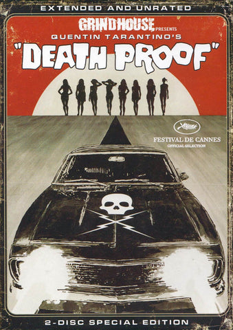 Grindhouse Presents- Death Proof (Extended and Unrated) (2 disc special edition) DVD Movie