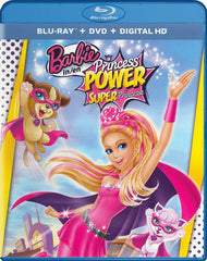 Barbie in Princess Power (Blu-ray / DVD / Digital HD) (Blu-ray) (Bilingual)