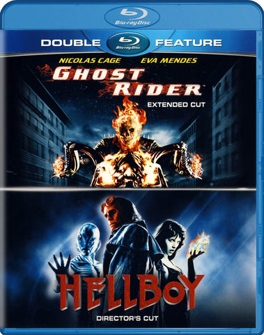 Ghost Rider / Hellboy (Double Feature) (Blu-ray) BLU-RAY Movie