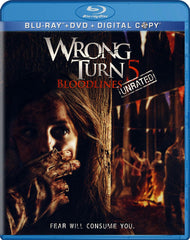 Wrong Turn 5 - Bloodlines (Unrated) (Blu-ray + DVD + Digital Copy) (Blu-ray)