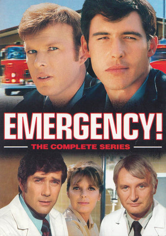 Emergency! The Complete Series (Boxset) DVD Movie