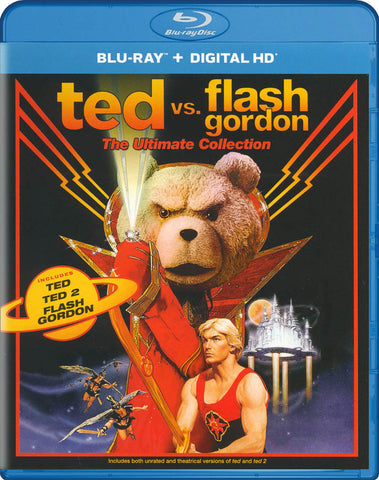 Ted vs. Flash Gordon - The Ultimate Collection (Ted / Ted 2 / Flash Gordon) (Blu-ray) BLU-RAY Movie