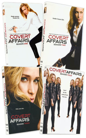 Covert Affairs (The Complete Season 1st-4th) (Boxset) DVD Movie