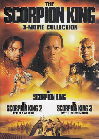 The Scorpion King - 3-Movie Collection DVD Movie