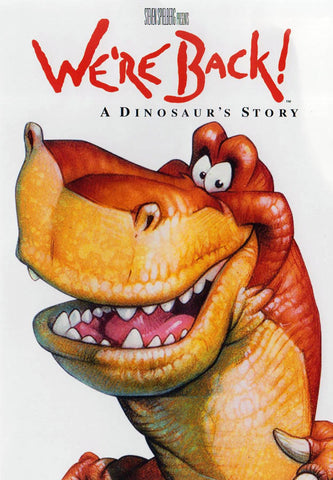 We re Back! A Dinosaur s Story (White Cover) DVD Movie