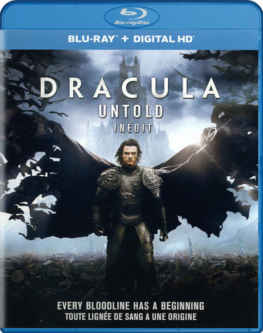 Dracula: Untold (Blu-ray / Digital HD) (Bilingual) (Blu-ray) BLU-RAY Movie