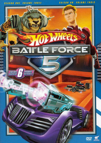 Hot Wheels - Battle Force 5 (Season 1 / Volume 3) (Bilingual) DVD Movie