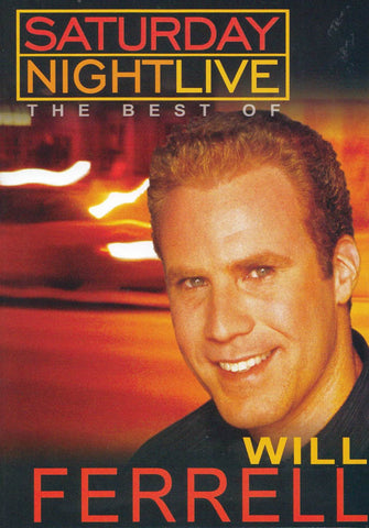 Saturday Night Live - The Best of Will Farrell (orange) DVD Movie