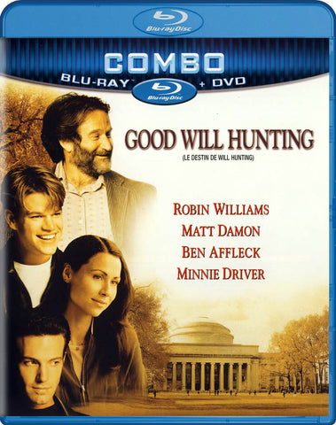 Good Will Hunting (Blu-ray + DVD + Digital Copy) (Blu-ray) (Bilingual) BLU-RAY Movie