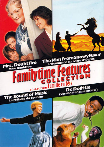 Familytime Features Collection (Bilingual) (Boxset) DVD Movie