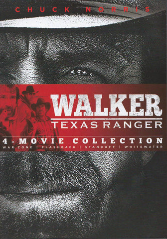 Walker Texas Ranger - Four Movie Collection (Keepcase) DVD Movie