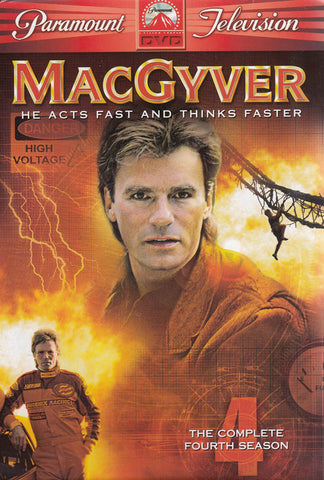 MacGyver - The Complete Fourth Season (Boxset) DVD Movie