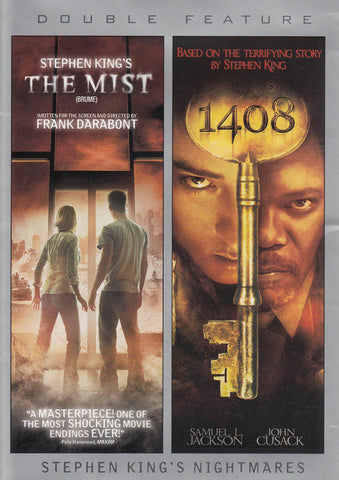 The Mist / 1408 (Double Feature) (Bilingual) (Grey Cover) DVD Movie